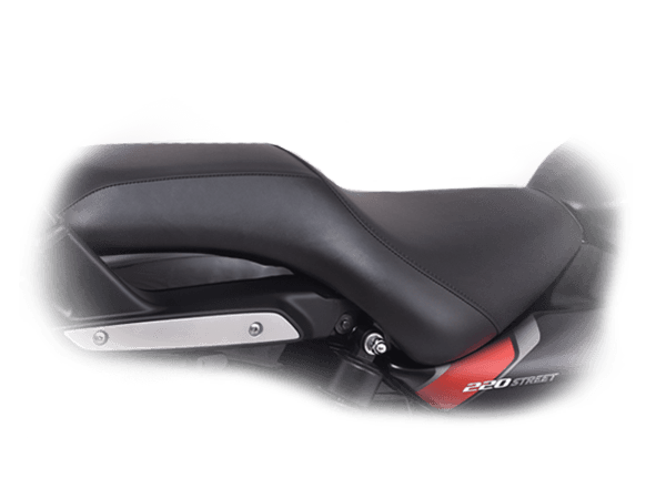 Bajaj Avenger Street 220  Low Slung Seating