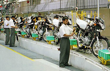 Bajaj Bike Production Chakan