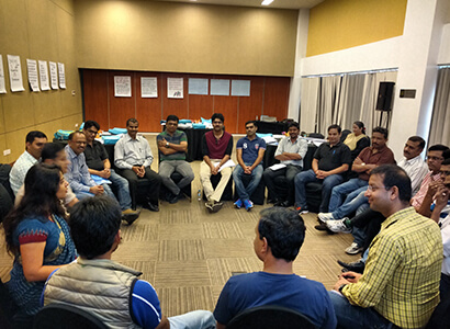Group Discussion at Bajaj