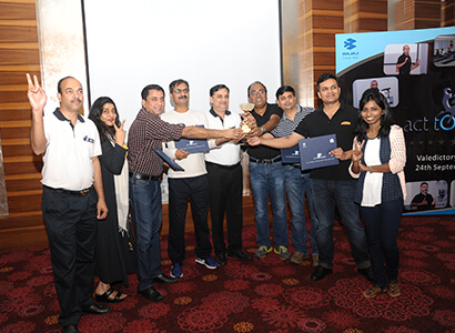 Employees Rewared For Their Contribution at Bajaj