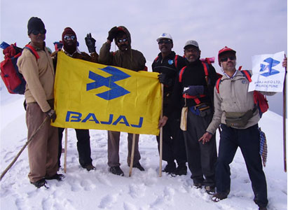 Trekking Trip for Employees at Bajaj