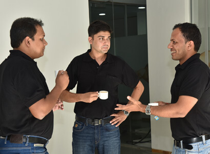 Coffee Discussions At Bajaj